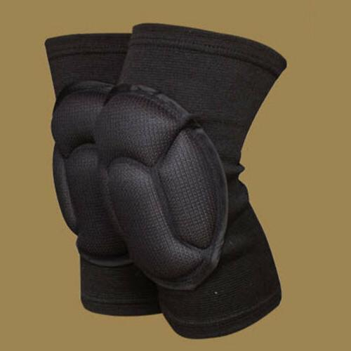 2X Black EVA Knee Pads Anti-Collision Skid Pads