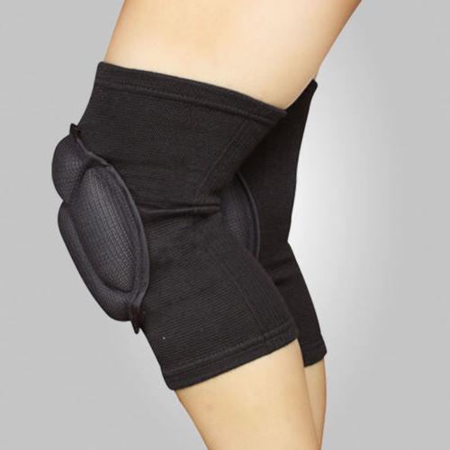 1Pair EVA Knee Skid Knee Dance Pads