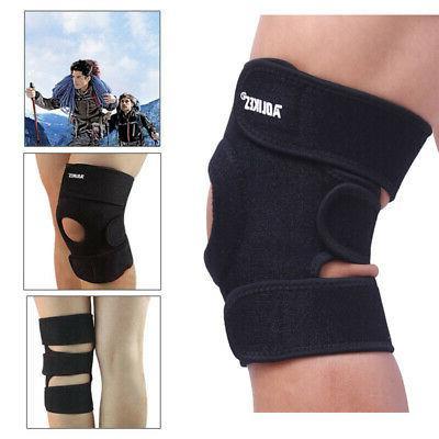 1 PC Elastic Knee Support Brace Kneepad Adjustable Patella K