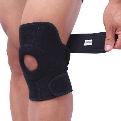 Elastic Knee Support Brace Kneepad Adjustable Patella Knee P