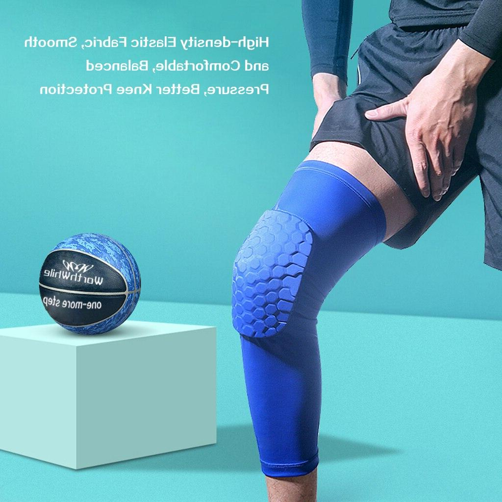 WorthWhile 1PC <font><b>Pads</b></font> Protector Compression Honeycomb Kneepad Fitness Gear Support