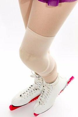 2 knee pads for ice figure skaters