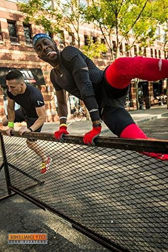 COOLOMG Packs Adult Basketball Leg Knee Sleeve Protector Black M
