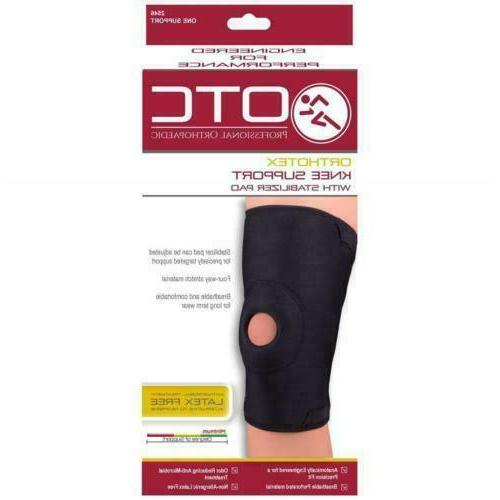 2546 orthotex knee support with stabilizer pad