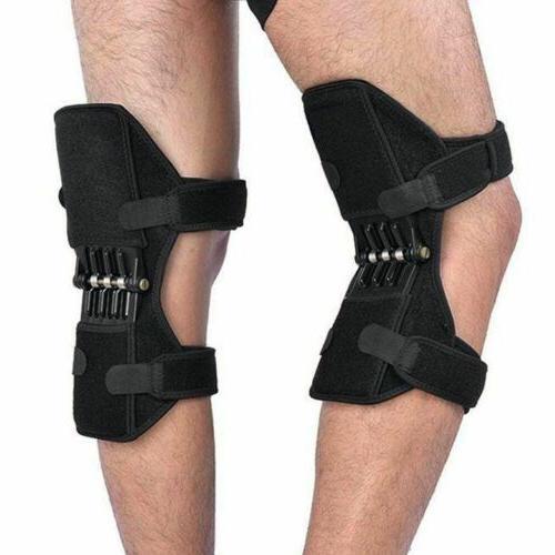 2Pcs 2nd Generation Power Knee Stabilizer Pads Rebound Sprin