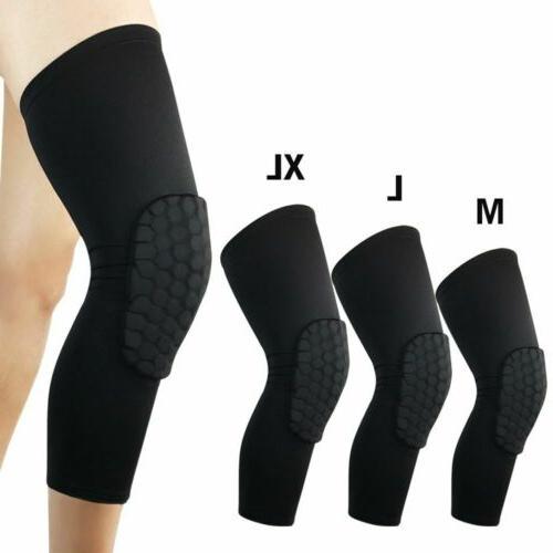 2pcs basketball knee pads leg sleeves protector