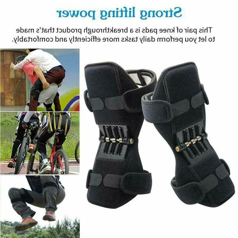 2pcs knee pads booster joint support brace