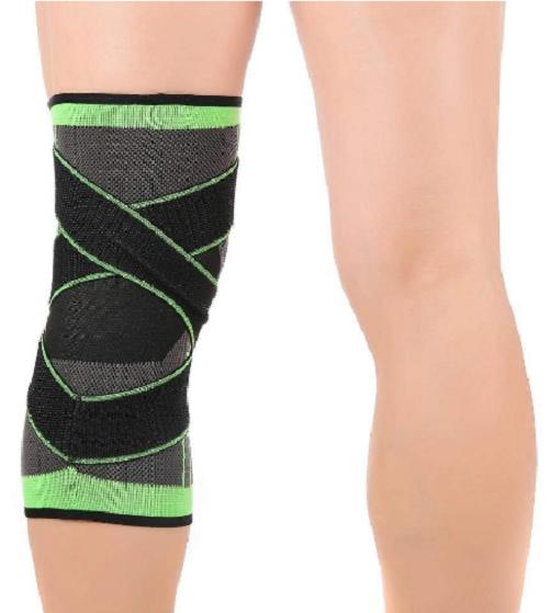 3D Pad Support Gear Compression Knee NEW
