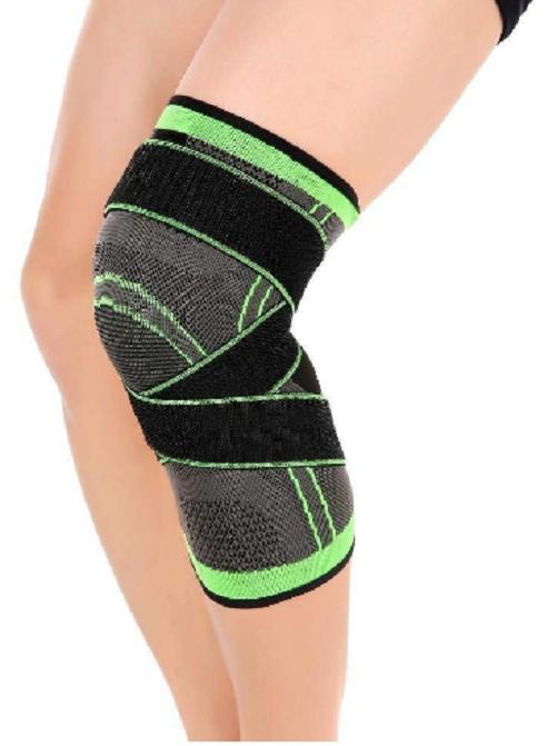 3D Weaving Brace Pad Protect Compression Knee NEW