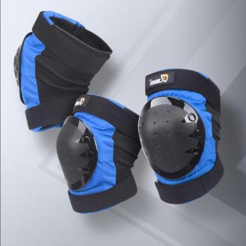 6 Skating Gear Knee Pads Wrist Guards