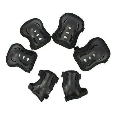 6pcs kid roller ski cycling protective gear