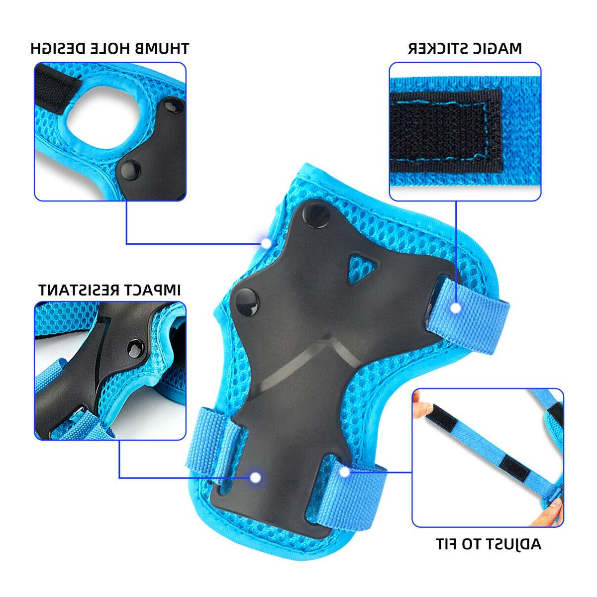 US Skating Protective Set Bike Blue
