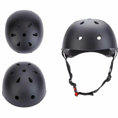 7Pcs Skateboard Helmet Combo Bmx PACK US