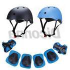 7pcs skateboard helmet elbow knee wrist pad