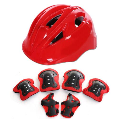 7pcs Skating Protective Sets Elbow Knee Bike For Adult Kid