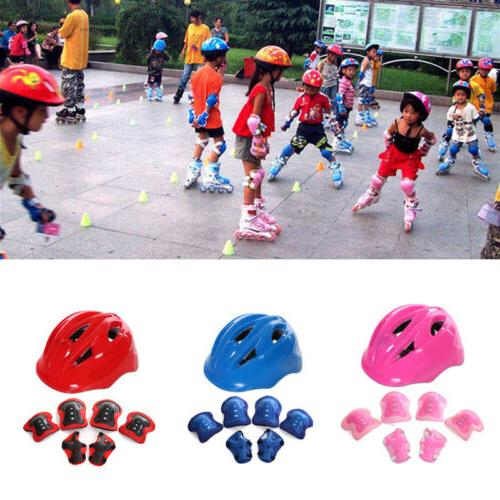 7pcs Gear Sets Elbow Knee Bike For Adult Kid