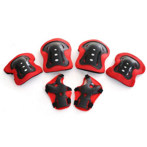 7pcs Sets Elbow Bike Kid