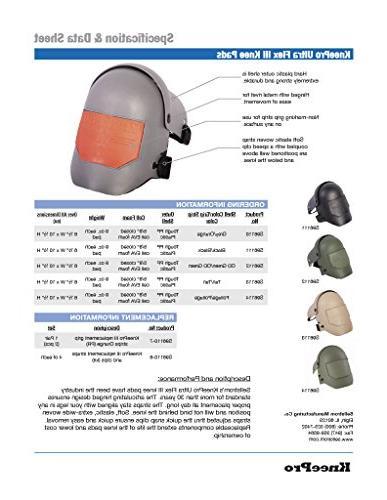 Sellstrom Knee Ultra Flex - Durable, Hard Hinged Pad