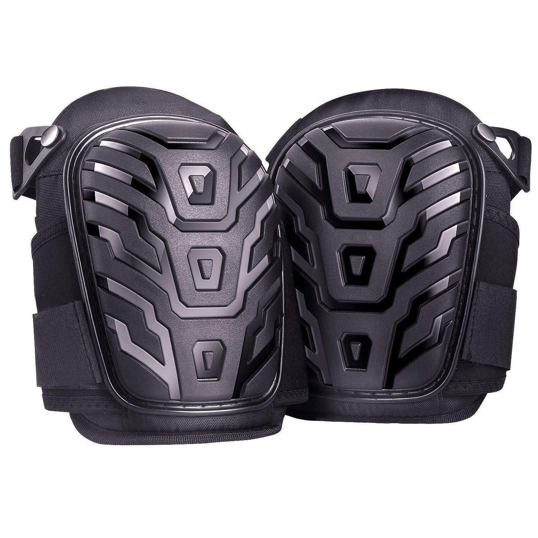 Adjustable Gel Knee Pads for Work Heavy Duty Foam Padding Ga