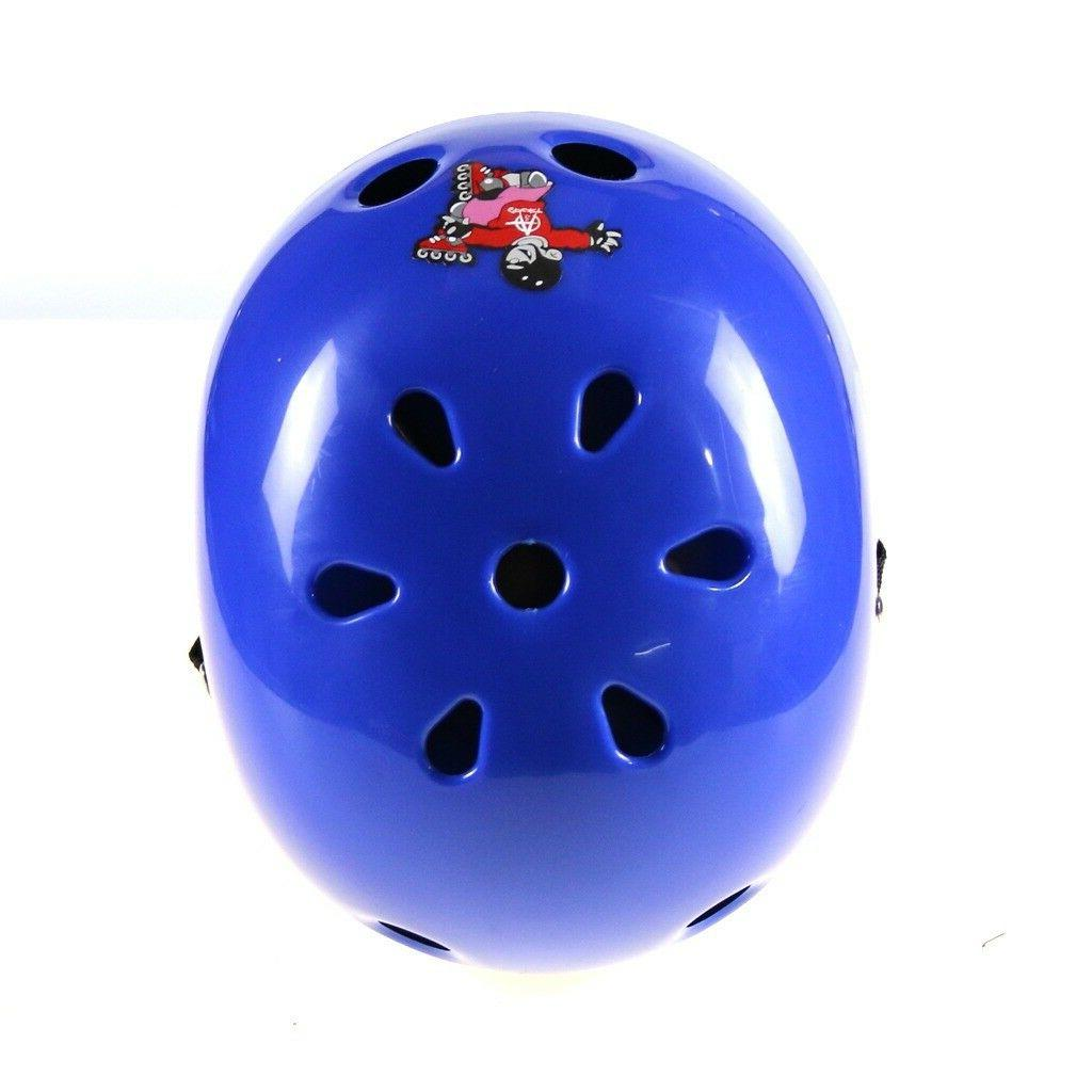 Kids Helmet Cycling Skating Elbow Pads Wrist