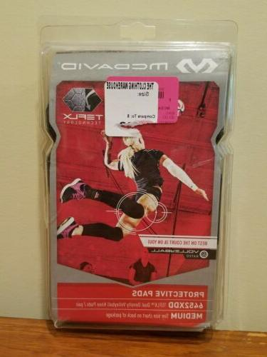 New Adult McDavid TEFLX Dual Density Volleyball Knee Pads Me