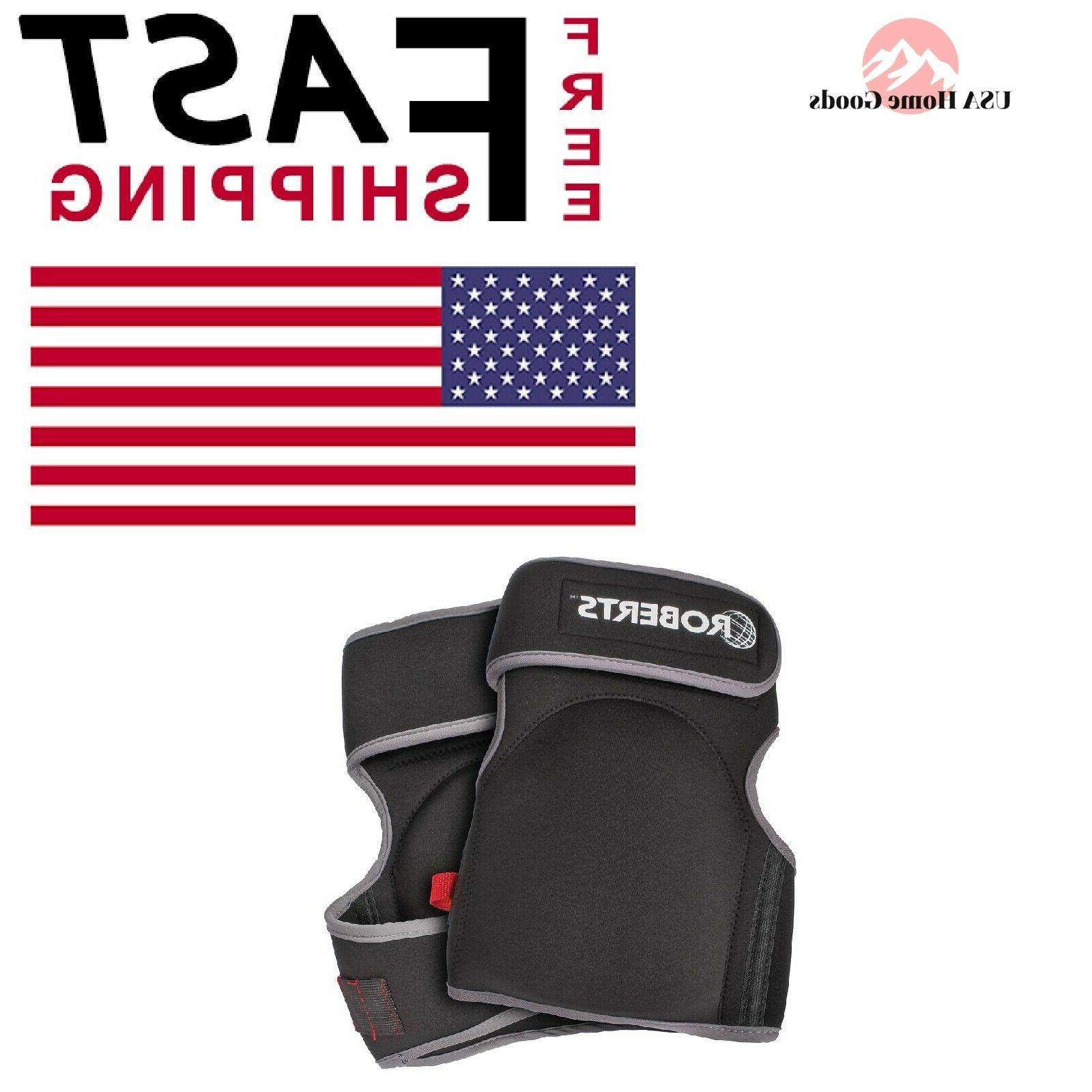 Roberts Pro Carpet Knee Pads Designed Specifically Soft Non
