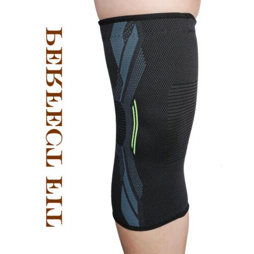 A Sleeve Knee Pads Basketball Elastic Compression