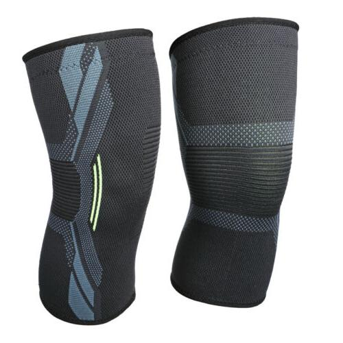 A Pair Knee Support Brace Knee Pads