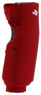 Adams USA Trace Long Style Softball Knee Guard - Scarlet Red