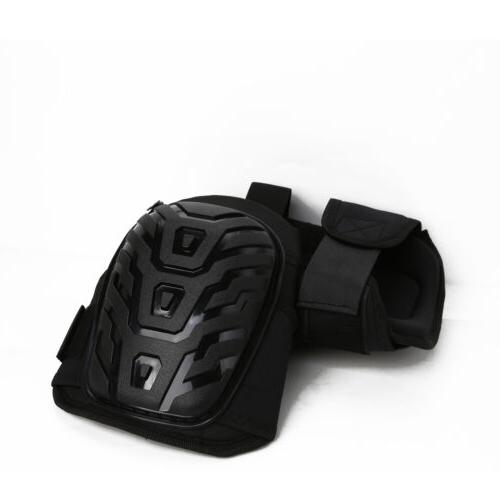 Heavy Duty Adjustable Gel Knee Pads for Work Foam Padding Ga
