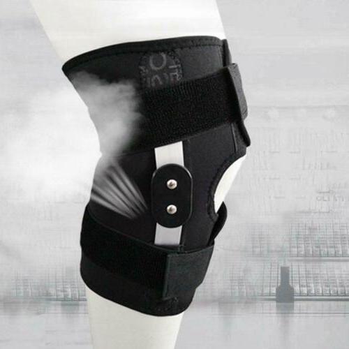 Adjustable Hinged Knee Support Brace Knee Protection Injury