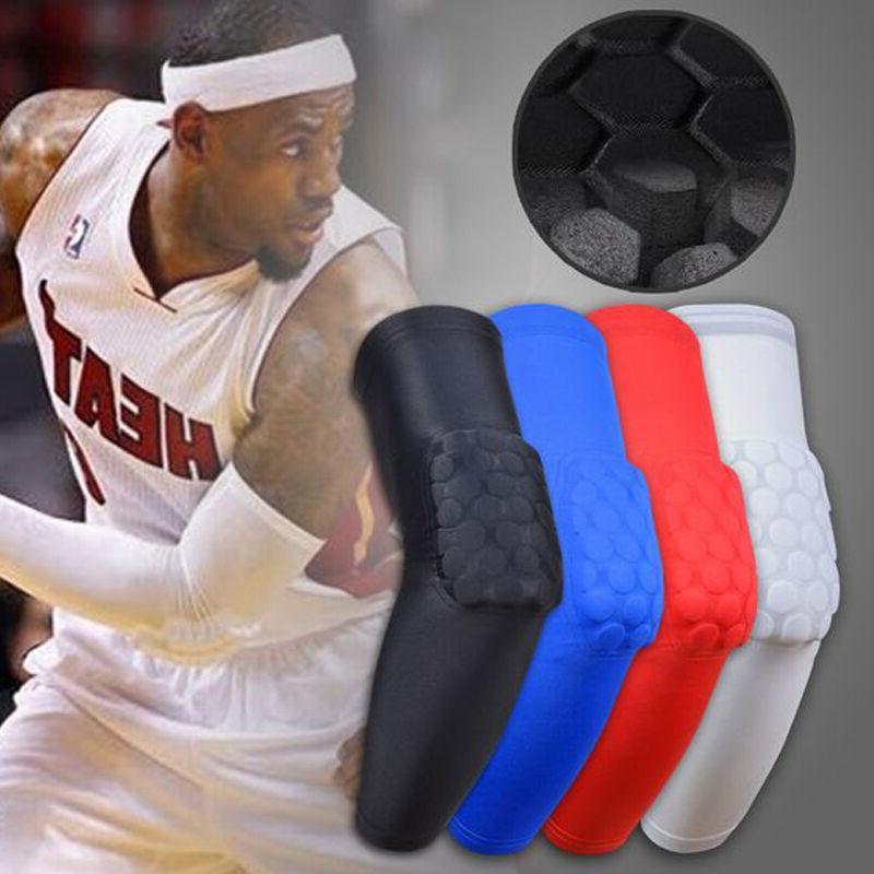Basketball Knee Kneepad Honeycomb Leg Compression Sleeve