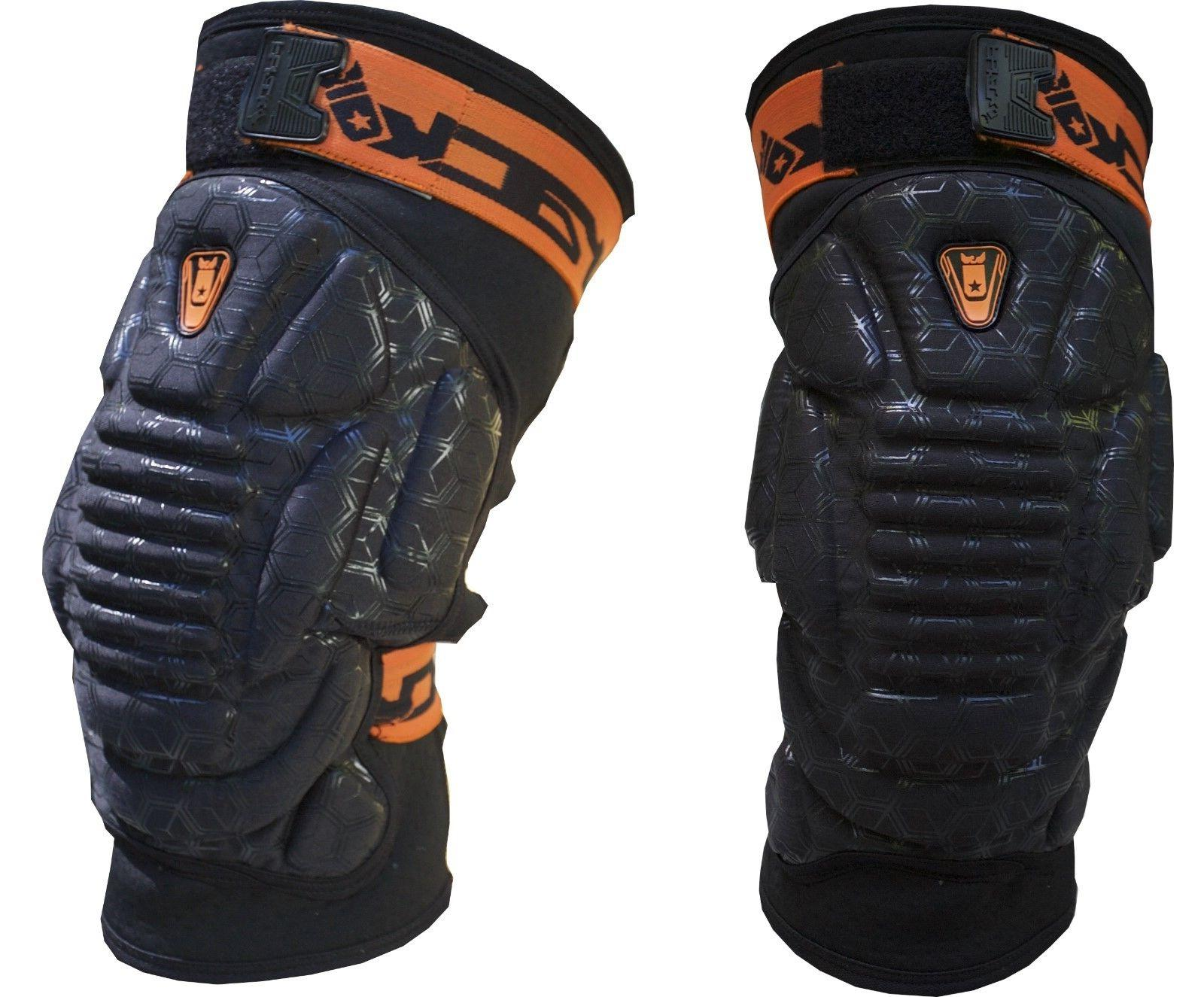 armadillo knee pads paintball size large xl