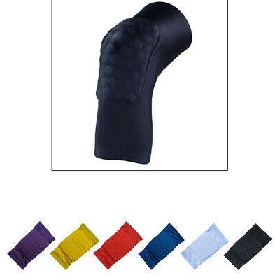 1PC Basketball Knee Pads Sleeve Honeycomb Brace Elastic Knee