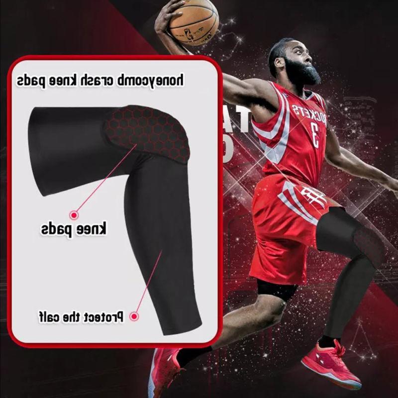 Basketball Compression Leg Crashproof Gear