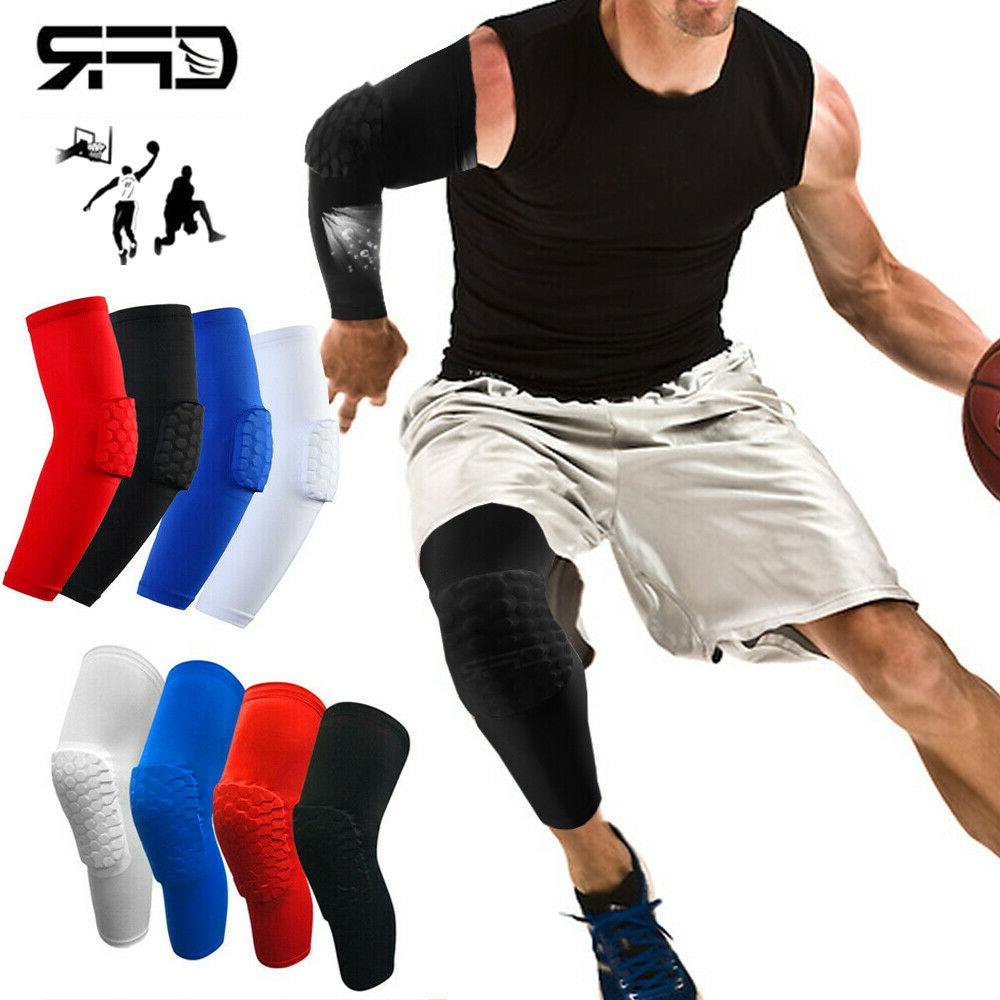 basketball knee pads compression leg sleeve crashproof