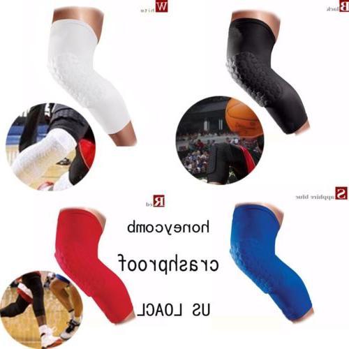 basketball knee pads kneepad honeycomb leg knee