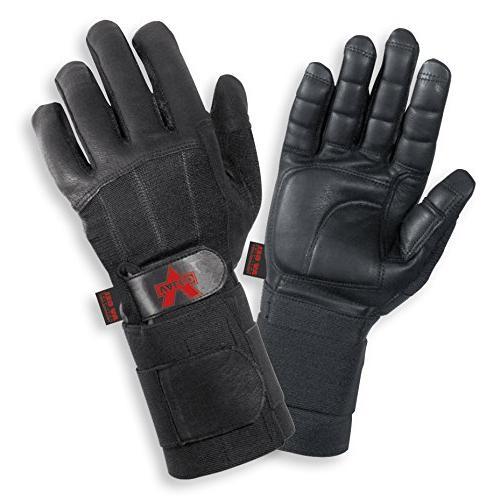 black finger leather anti vibe