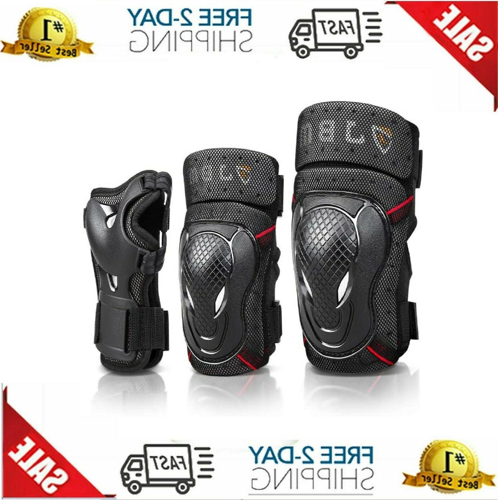 bmx bike knee pads elbow