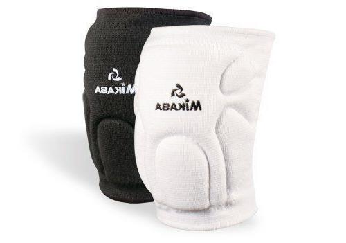 competition youth knee pads volleyball pair white