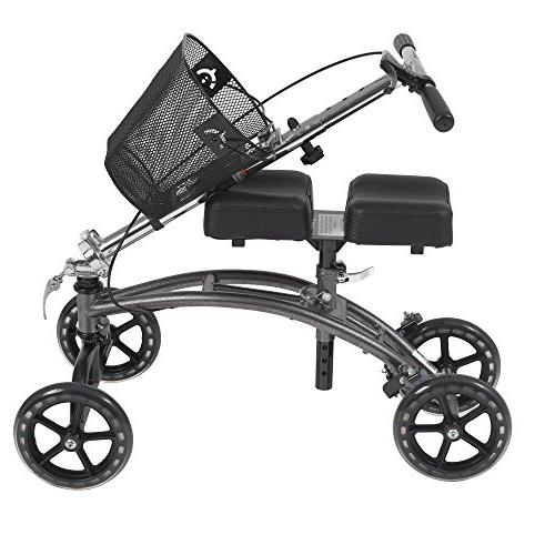 Drive Medical Dual Pad Steerable Knee Basket,