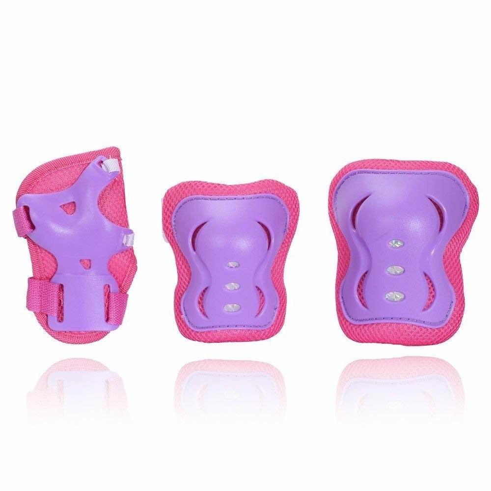 eNilecor Kids Roller Bladg Wrist Elbow Knee Pads Gift