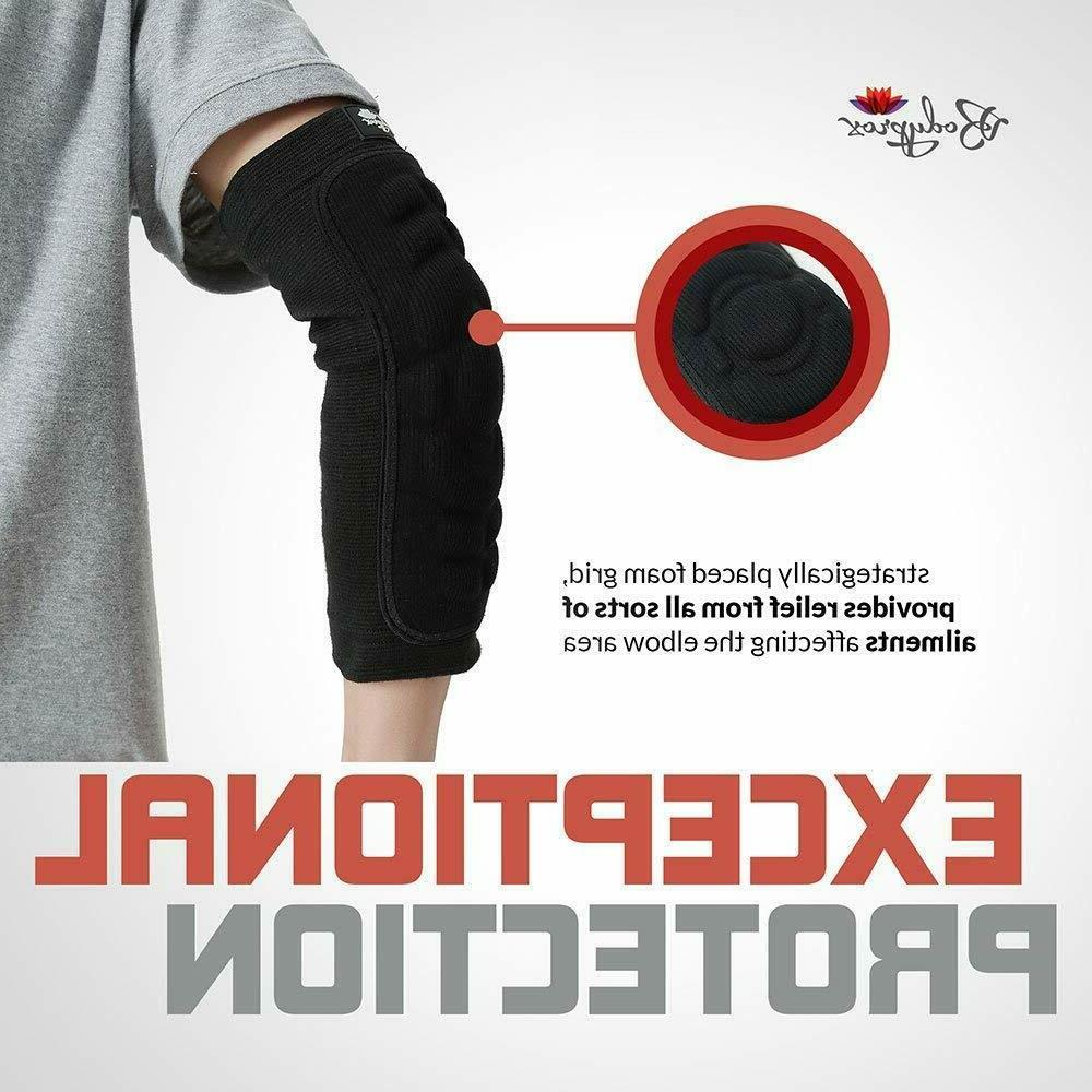 Bodyprox Elbow Protection Pads 1 Pair, Sleeve, ABSOLUTE
