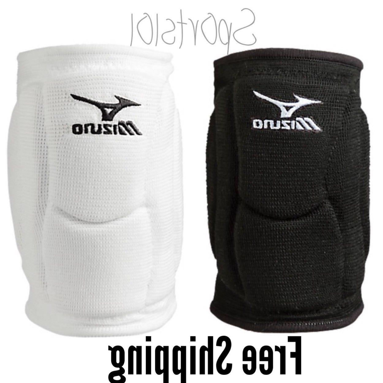 Mizuno Elite 9 SL2 Volleyball Knee Pads 480175 One Pair Whit