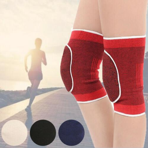 2PCS Exercise Knee Pads For Gym Bike Volleyball Football Spo