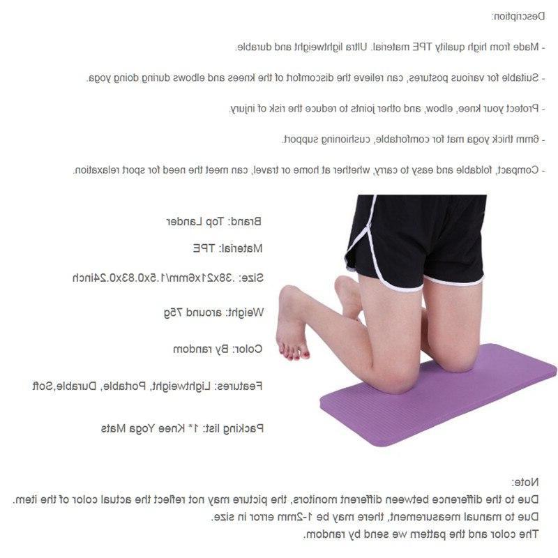 <font><b>Yoga</b></font> <font><b>Knee</b></font> <font><b>Pad</b></font> 6mm Wrist Mats Gym <font><b>Yoga</b></font> Non-Slip <font><b>Knee</b></font>