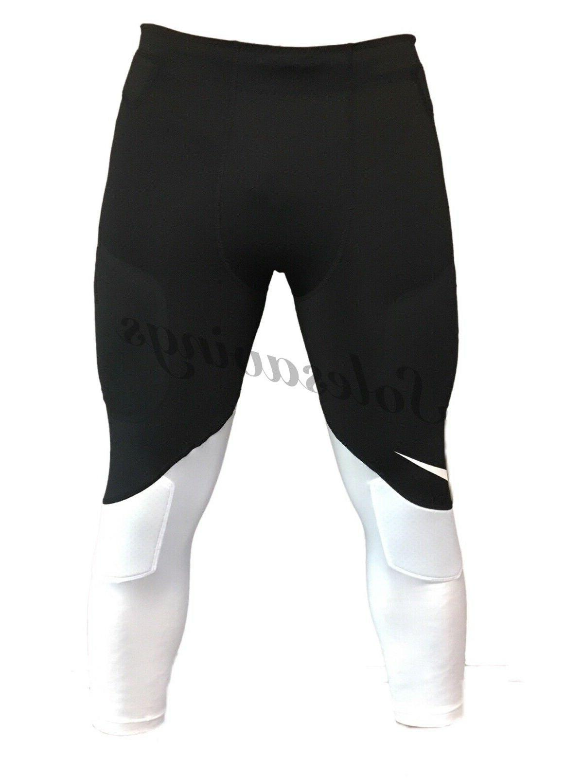football padded hip knee 3 4 compression