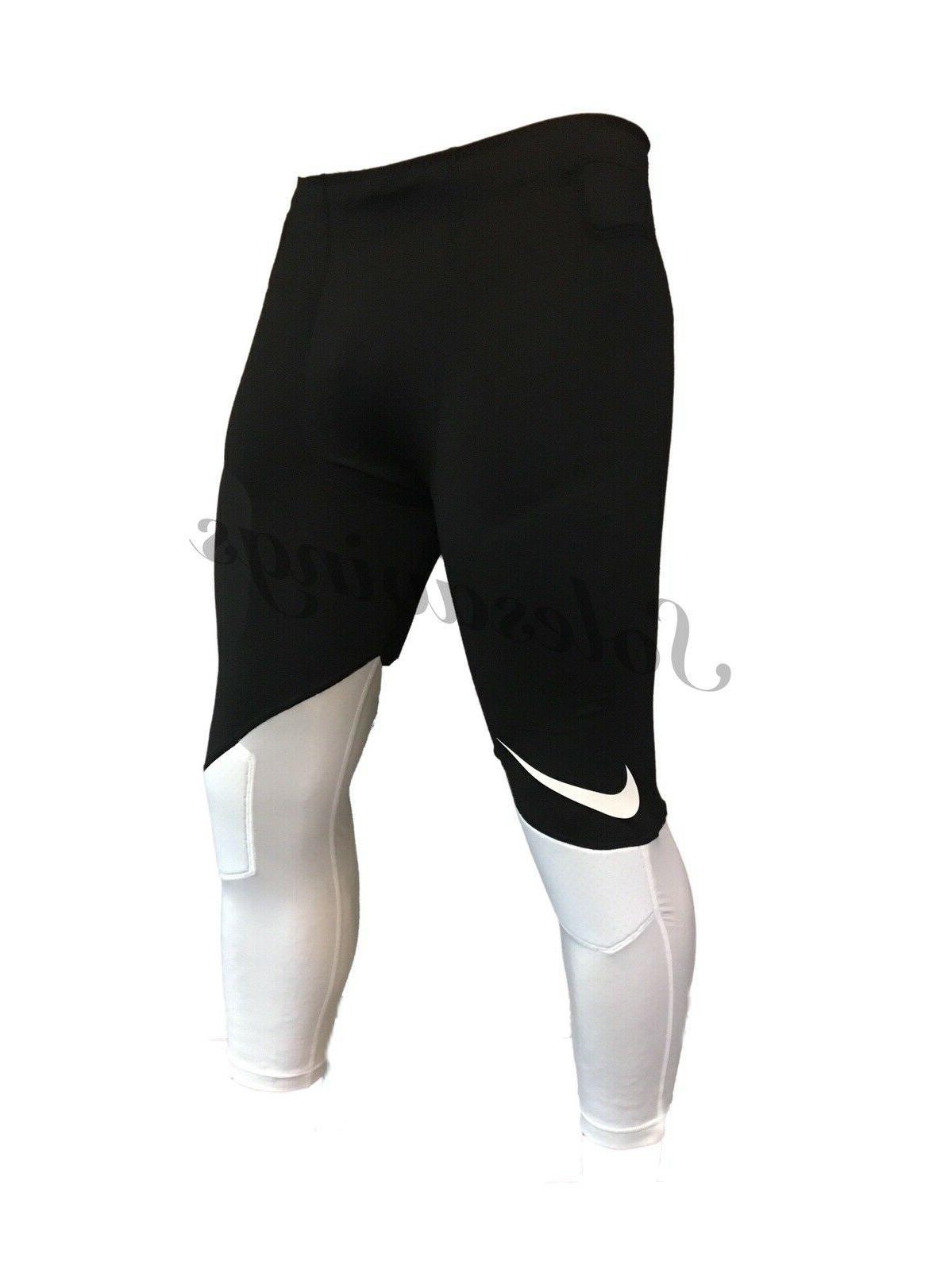 Nike Padded 3/4 Compression Flag