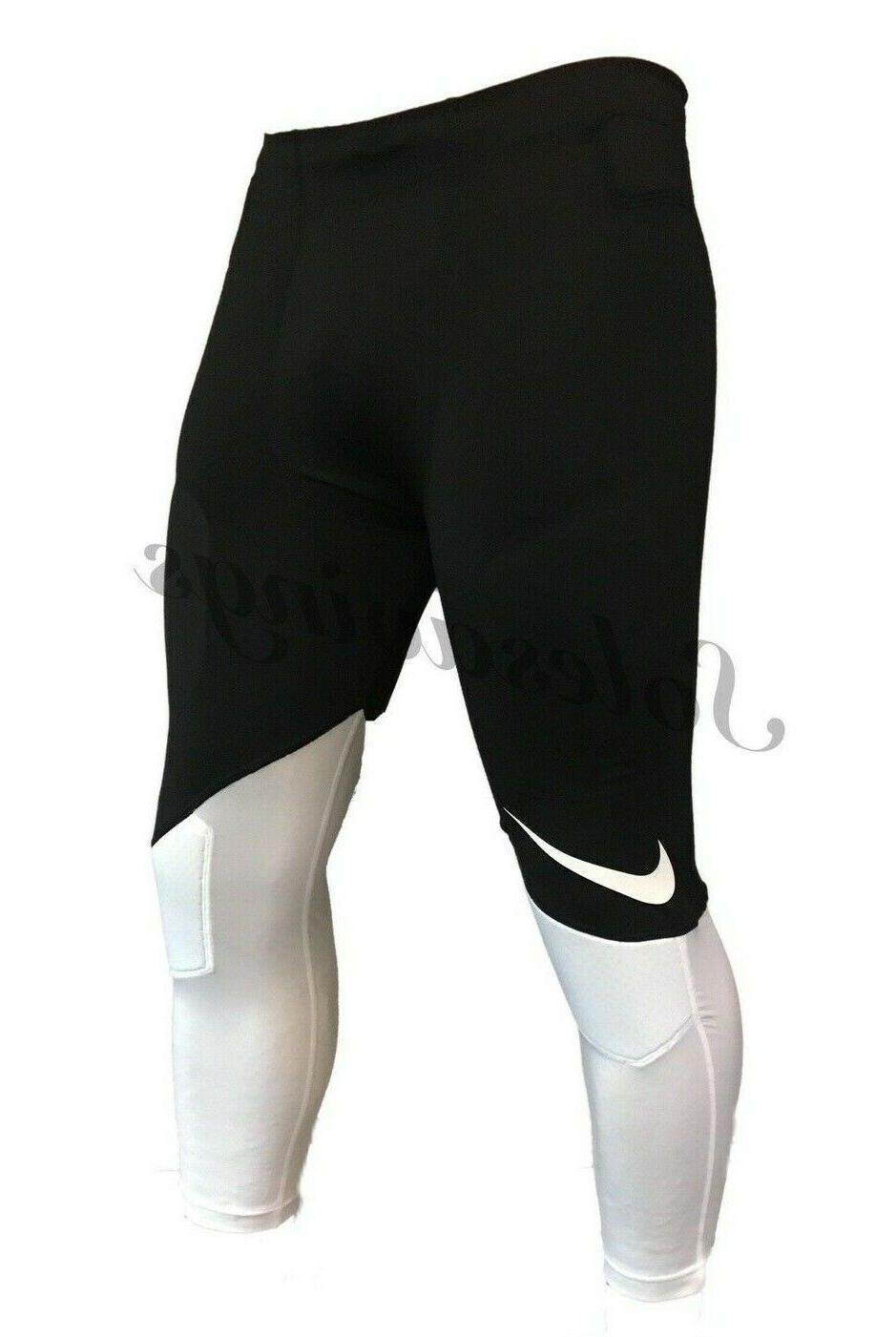 Nike Football 3/4 Pants Black/White Flag Football