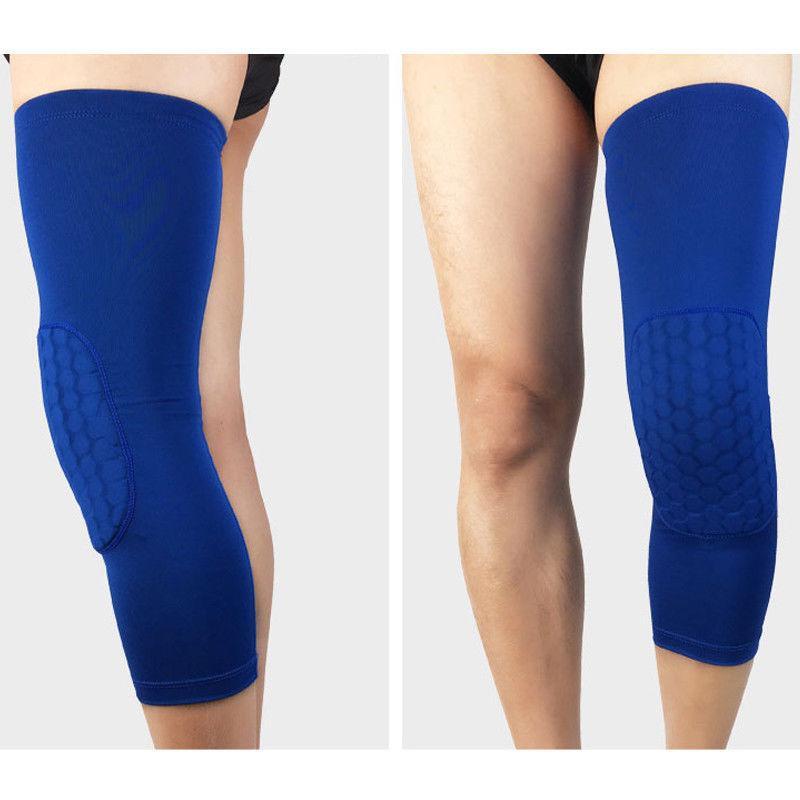 Hex Sponge Knee Pads Basketball Sleeves Compression Braces